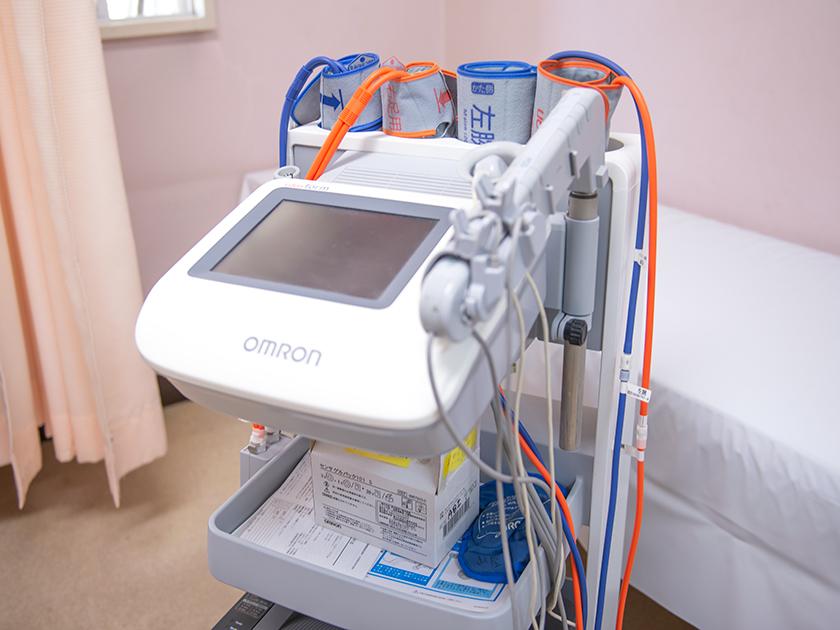 血圧脈波検査装置「フォルム」